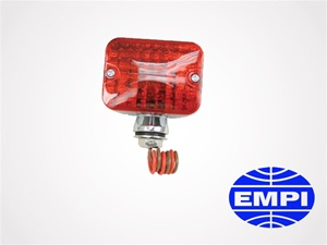 Mini Tail Light Assembly, Red