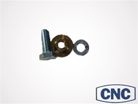 Replacement Bolt, Lock Washer, & Foot for Adjustable Pedal Mount Plate