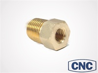 CNC Brass Bleeder Adapter