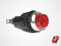 K4 Large Indicator Light Red