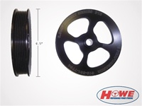 "T/C 6.5"" Aluminum Serpentine Pulley"