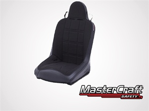 Sportsman with Fixed Headrest Black