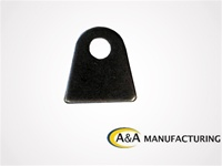 "A&A Manufacturing Chassis Tab 1/2"" Hole, 1/8"" Steel"