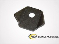 "A&A Manufacturing Trick Tab 1/8"" Steel, 3/8"" Hole"
