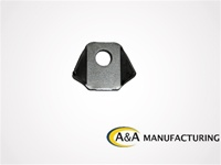 "A&A Manufacturing Trick Tab 1/8"" Steel, 1/2"" Hole"