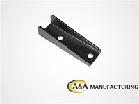 "A&A Manufacturing Channel Tab 7/8"" Wide, 3"" Long, 1/4"" Hole"
