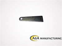 "A&A Manufacturing Mirror Bracket 1/8"" Steel, 1/4"" Hole"