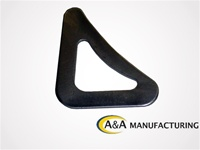 "A&A Manufacturing 90 Degree Heavy Duty Corner Gusset, 1/8"" Steel"