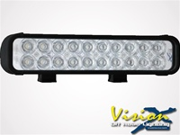 "12"" XMitter LED Bar Black Twenty 3-Watt LED's"