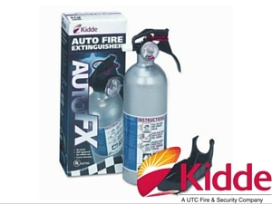 2LB KIDDE FIRE EXTINGUISHER SILVER