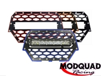 ModQuad Front Grill w/10″ Light Bar For RZR 1000