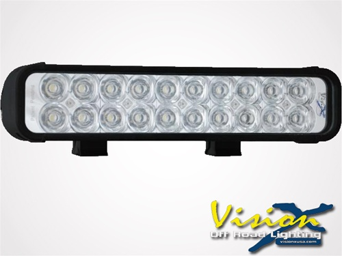 Vision x 12 xmitter led bar black twenty 3 watt leds lighting 12 xmitter led bar black twenty 3 watt leds aloadofball Image collections