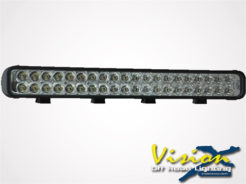 Vision x 22 xmitter led bar black forty 3 watt leds euro beam 22 xmitter led bar black forty 3 watt leds euro beam aloadofball Image collections